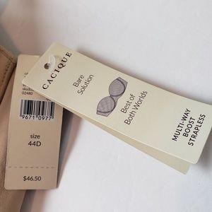 Cacique Intimates & Sleepwear - New 44D Nude  Beige Cream Tan Underwire Bra
